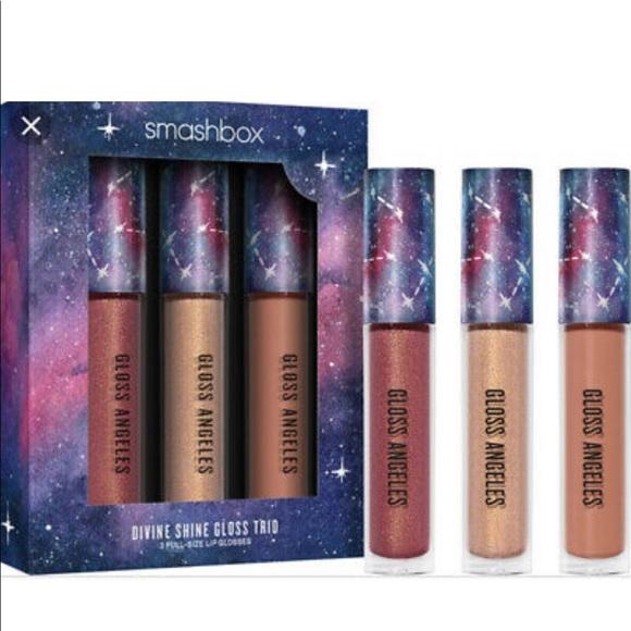 Smashbox Divine Shine Lipgloss Trio Full Size
